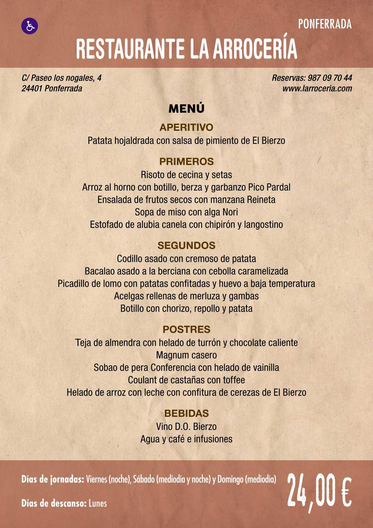 XXXVI Jornadas Gastronómicas De El Bierzo 2020. Consulta los restaurantes y menús 19