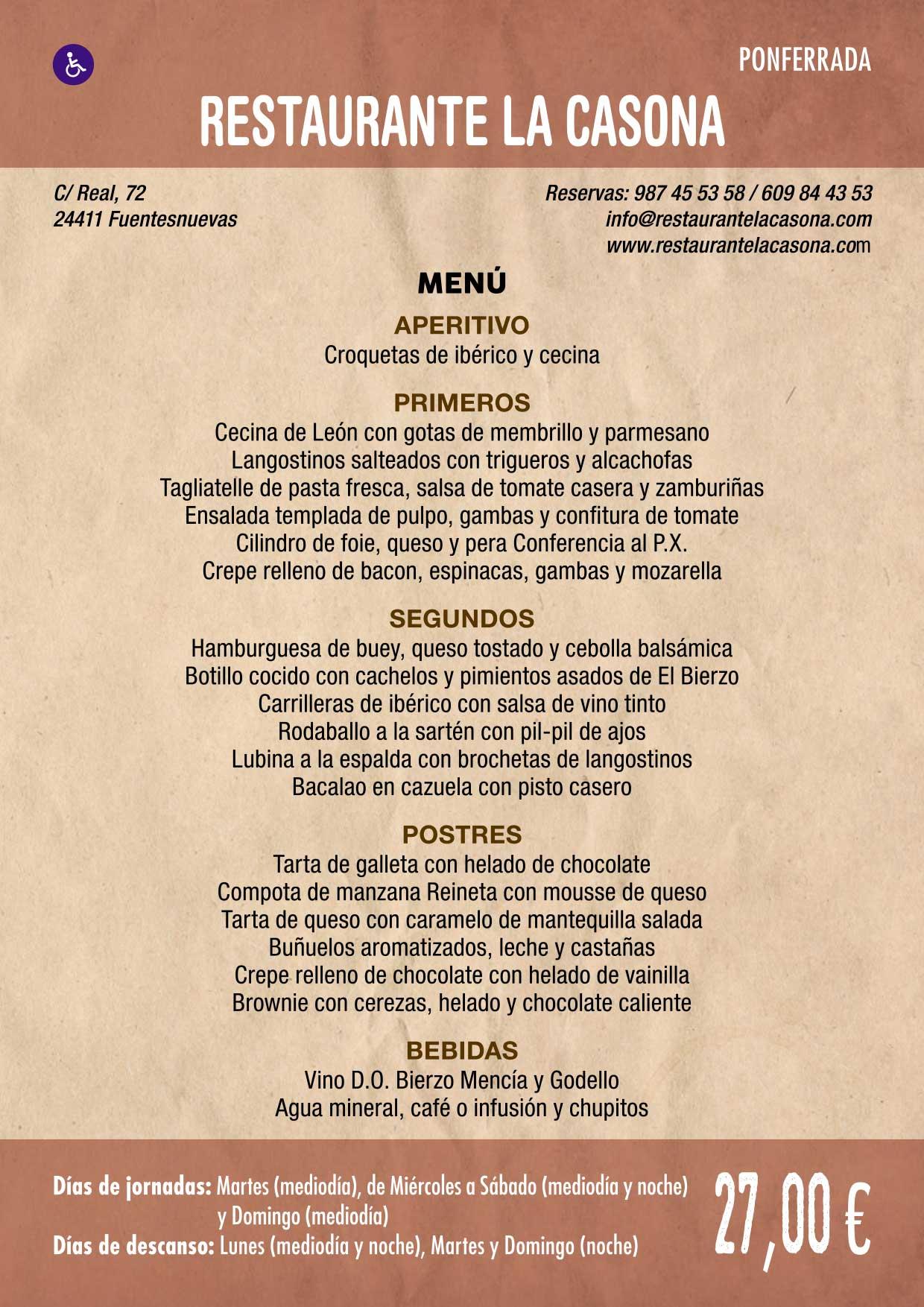 XXXVI Jornadas Gastronómicas De El Bierzo 2020. Consulta los restaurantes y menús 21