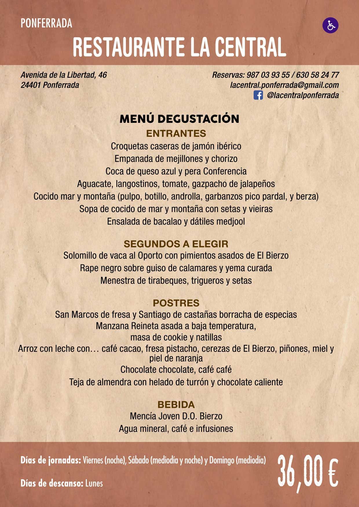 XXXVI Jornadas Gastronómicas De El Bierzo 2020. Consulta los restaurantes y menús 22