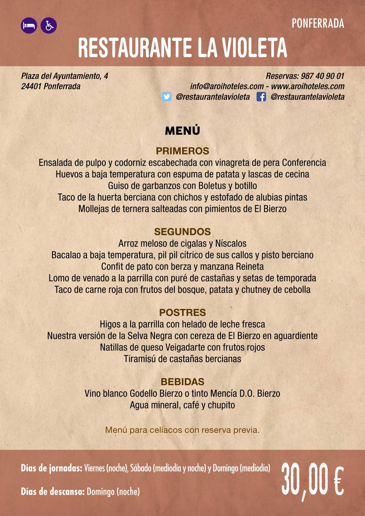 XXXVI Jornadas Gastronómicas De El Bierzo 2020. Consulta los restaurantes y menús 23