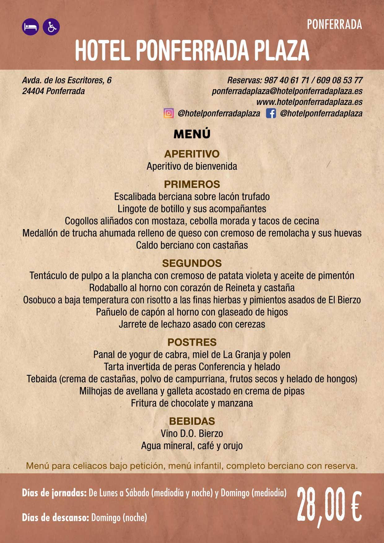 XXXVI Jornadas Gastronómicas De El Bierzo 2020. Consulta los restaurantes y menús 25