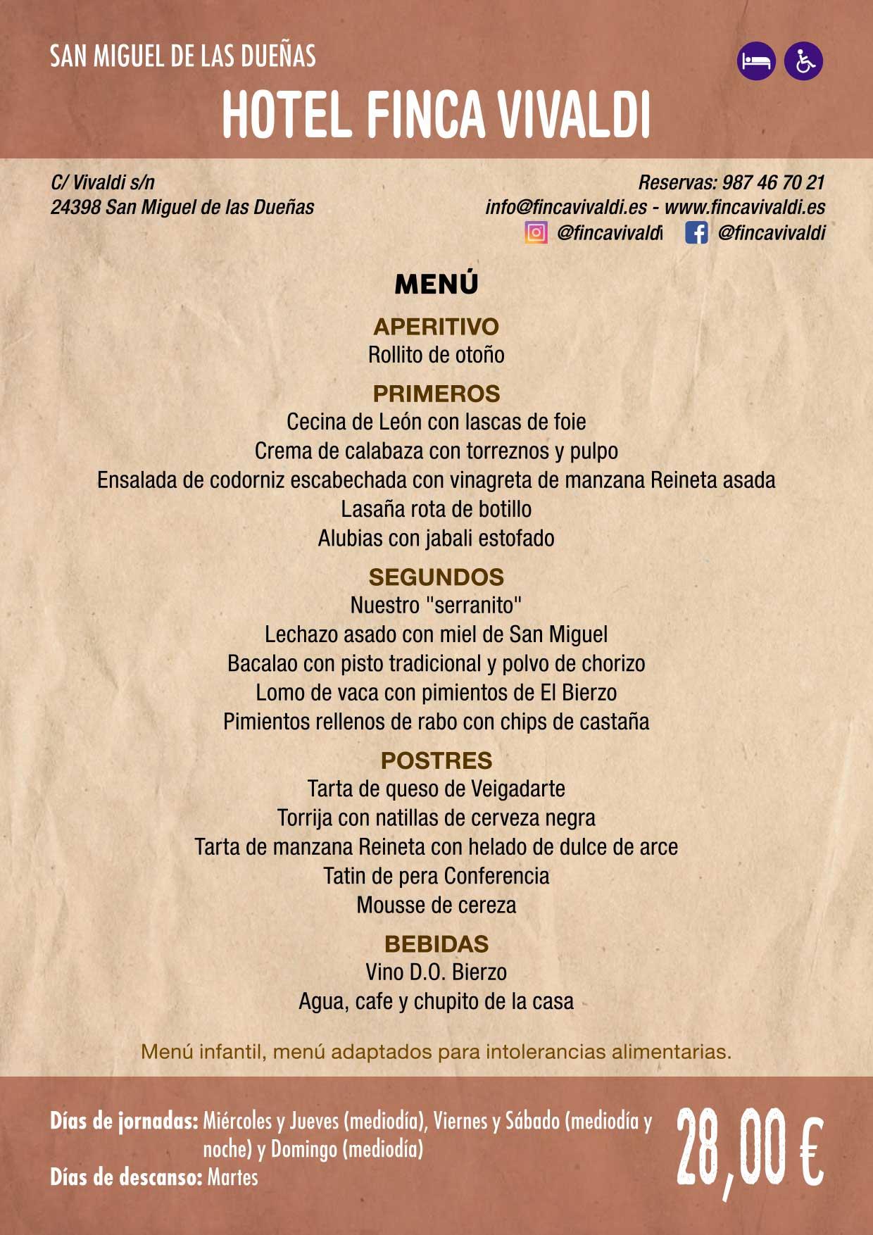 XXXVI Jornadas Gastronómicas De El Bierzo 2020. Consulta los restaurantes y menús 26