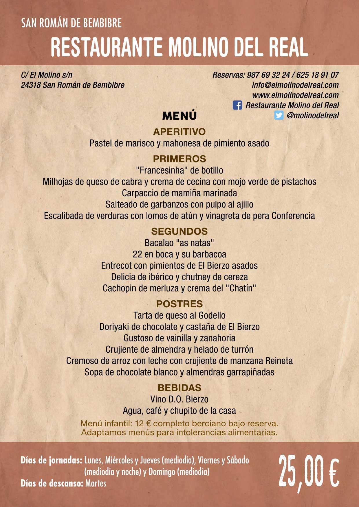 XXXVI Jornadas Gastronómicas De El Bierzo 2020. Consulta los restaurantes y menús 28