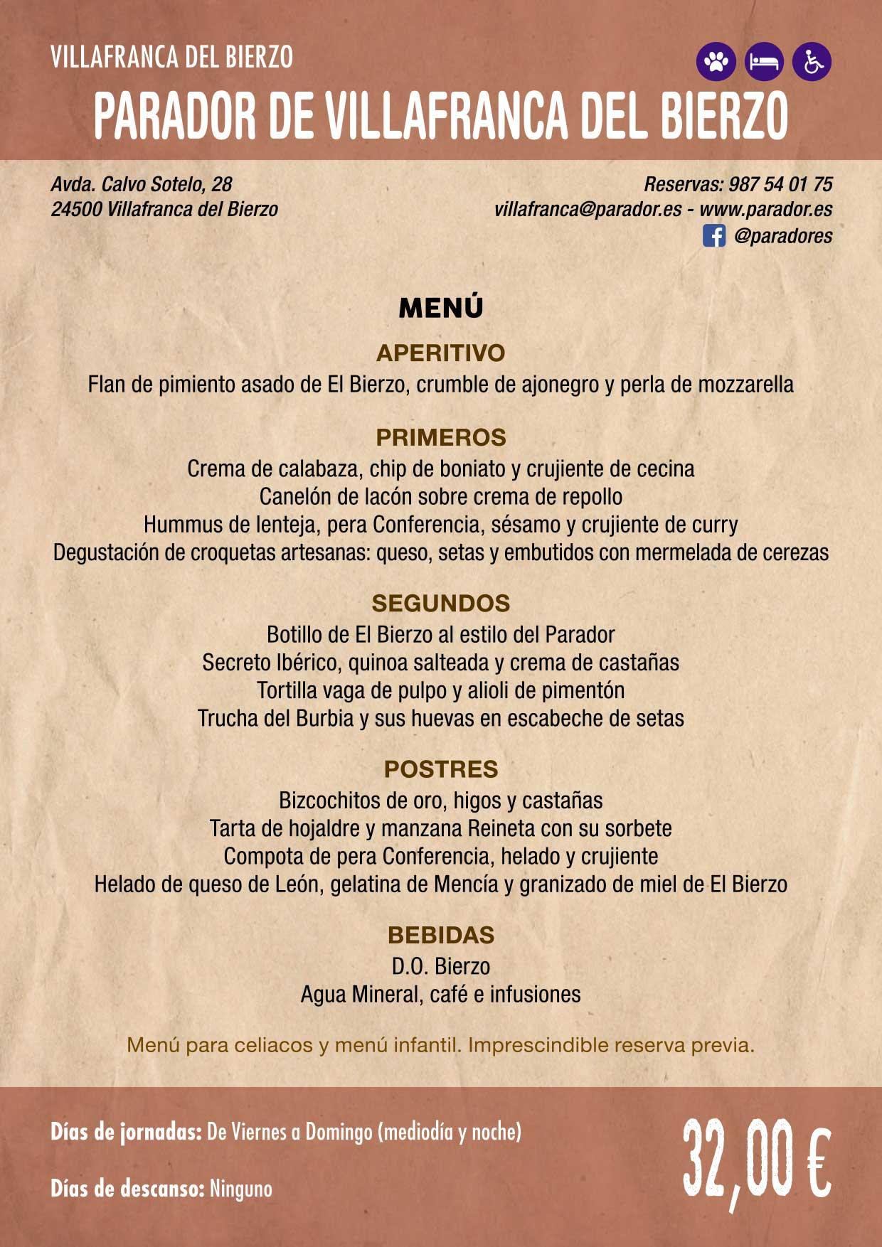 XXXVI Jornadas Gastronómicas De El Bierzo 2020. Consulta los restaurantes y menús 30