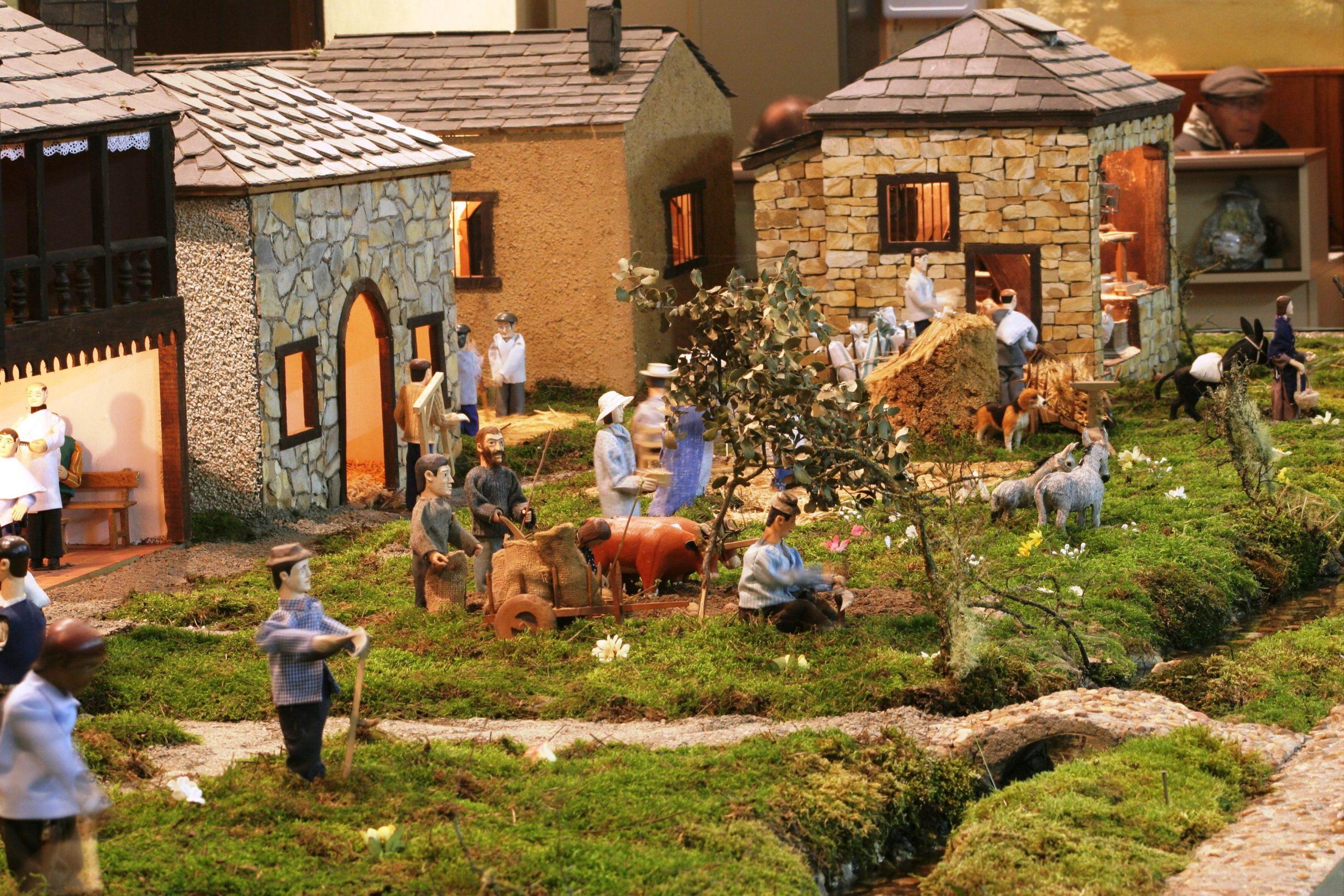 El Belén artesano de Folgoso de la Ribera no abrirá sus puertas estas navidades por primera vez en más de 50 años 1
