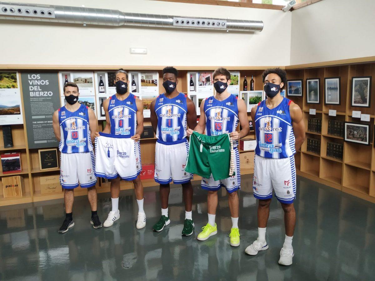 El Club Baloncesto Ciudad de Ponferrada llevará la imagen de Bierzo Enoturismo por todo el país 1