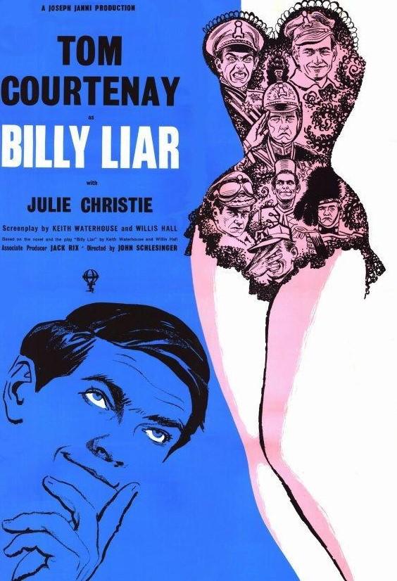 """El ciclo Tierra de Paso,  dedicado al cine británico ofrecerá el lunes en la Casa de la Cultura la proyección de la película """"Billy Liar"""" 1"""
