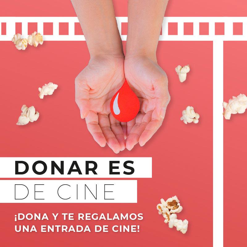 La campaña de donación de sangre, 'Donar es de cine' arranca mañana en El Rosal 1