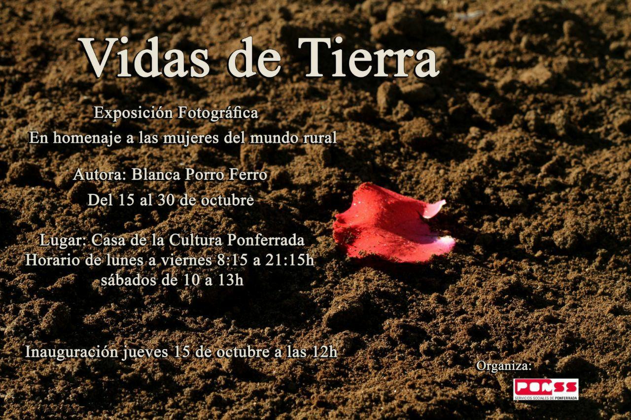 Exposición fotografica de Blanca Porro: Vidas de tierra 1