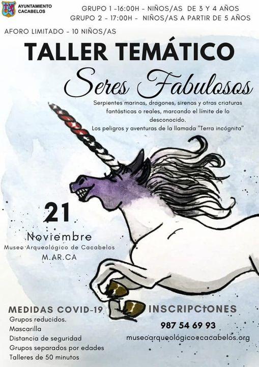 El Museo Marca de Cacabelos organiza el taller Seres Fabulosos 2