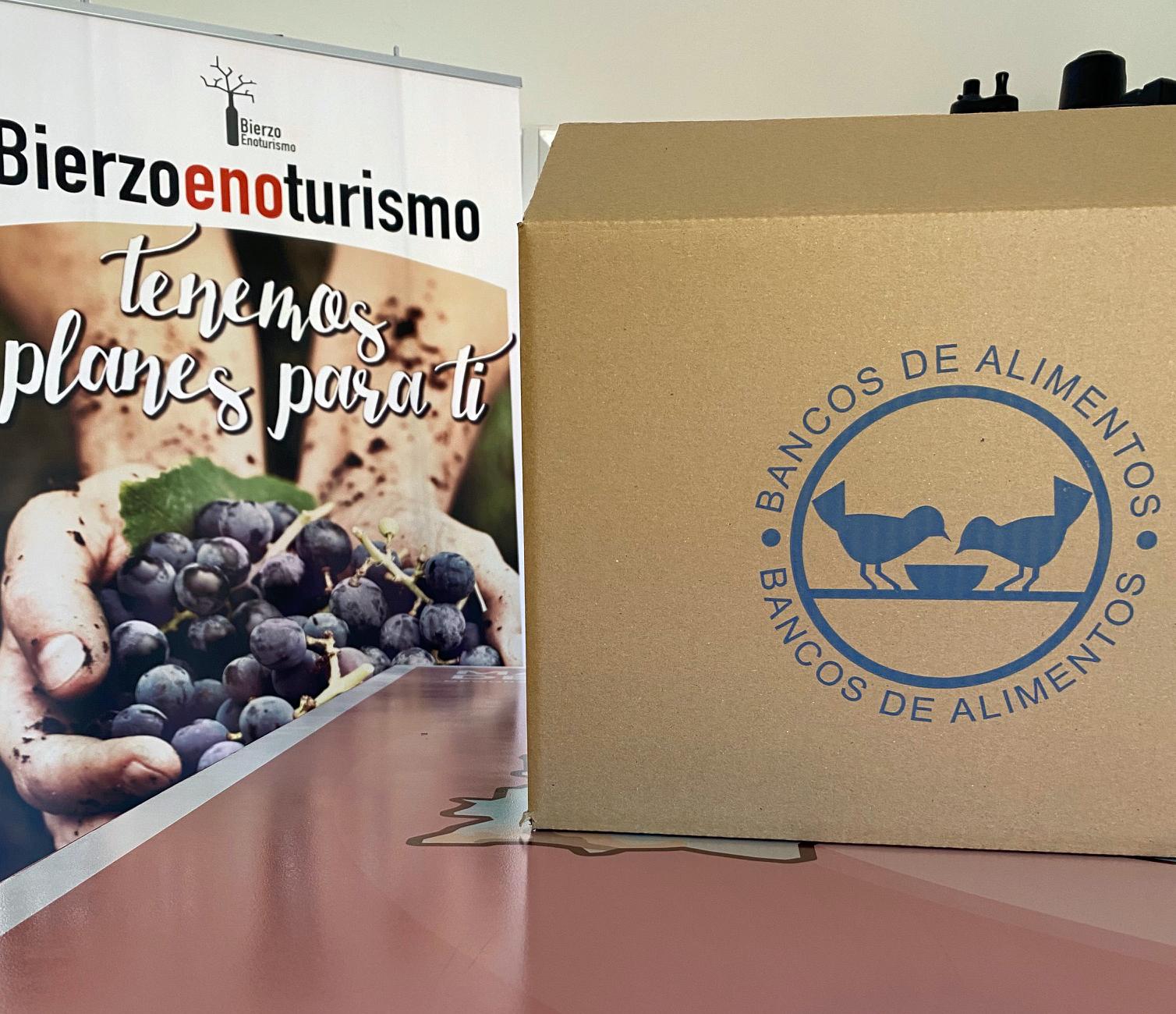 Bierzo Enoturismo pone en marcha una campaña solidaria junto con el Banco de Alimentos del Sil 3