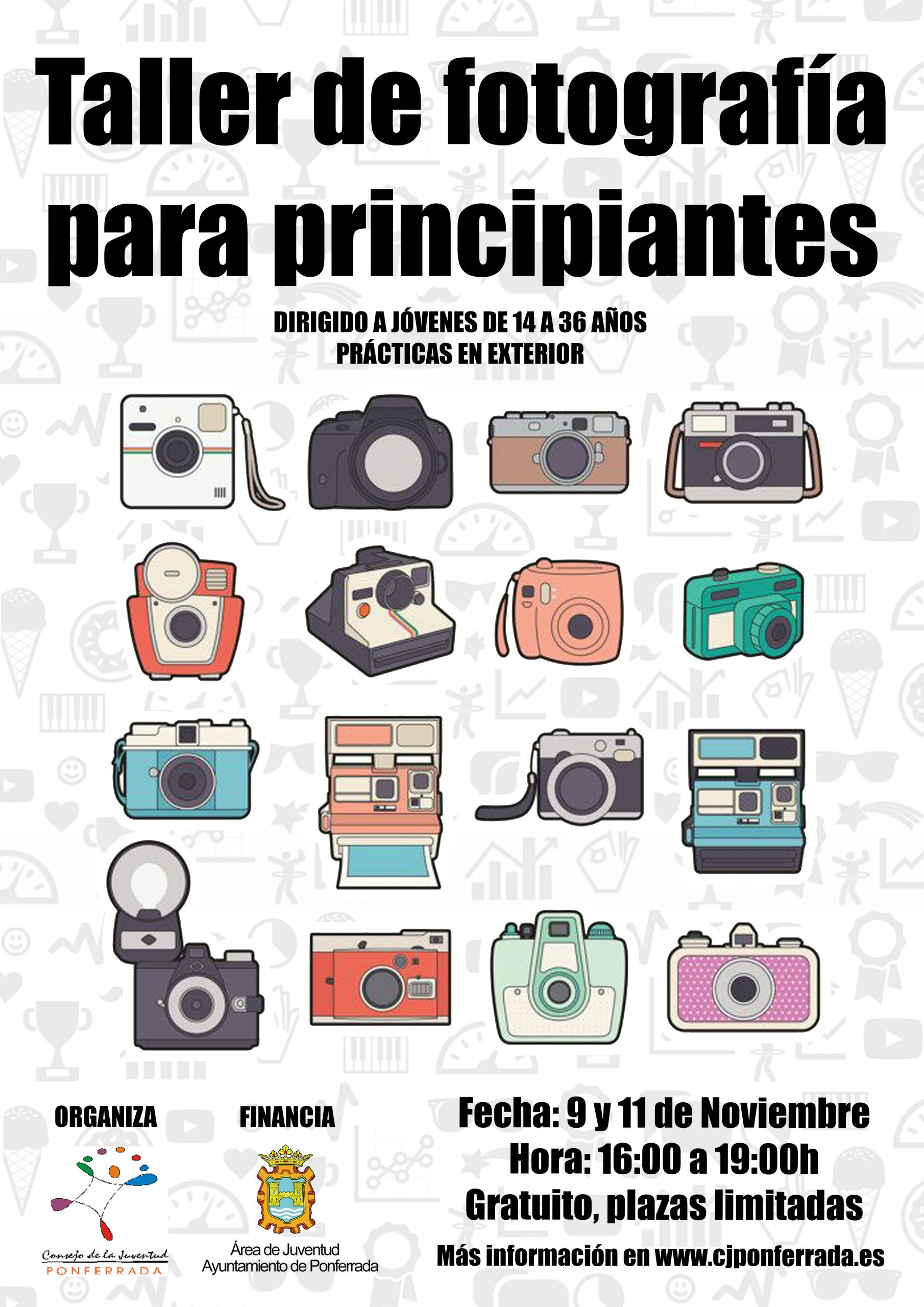 Taller de fotografía para principiantes en el Consejo Local de la Juventud 1