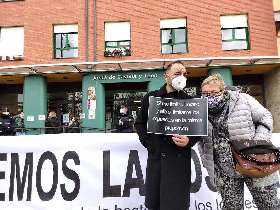 La hostelería berciana dice 'basta' ante la delegación de la Junta de Castilla y León 6