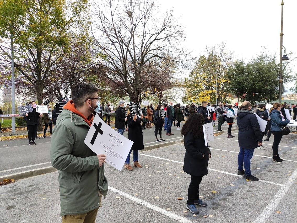 La hostelería berciana dice 'basta' ante la delegación de la Junta de Castilla y León 5