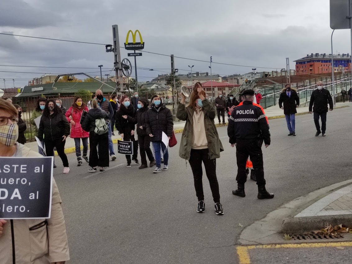 La hostelería berciana dice 'basta' ante la delegación de la Junta de Castilla y León 4