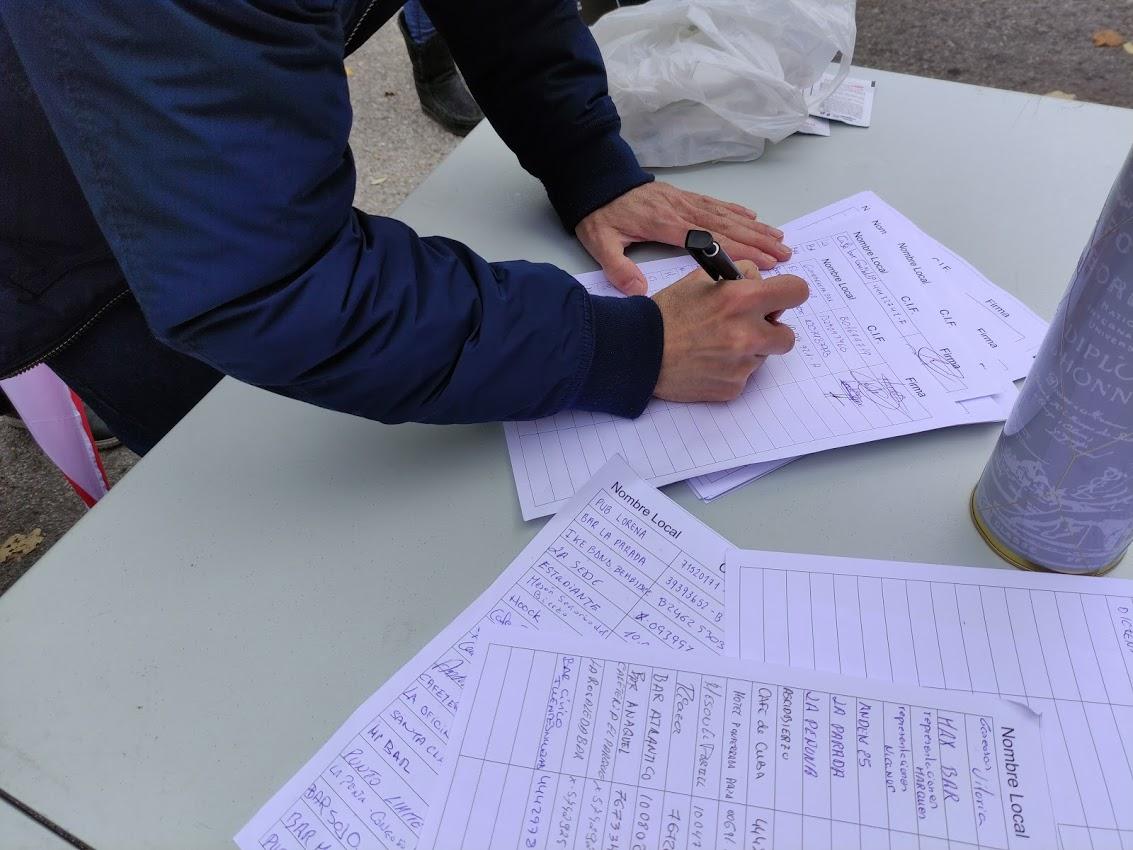 La hostelería berciana dice 'basta' ante la delegación de la Junta de Castilla y León 3