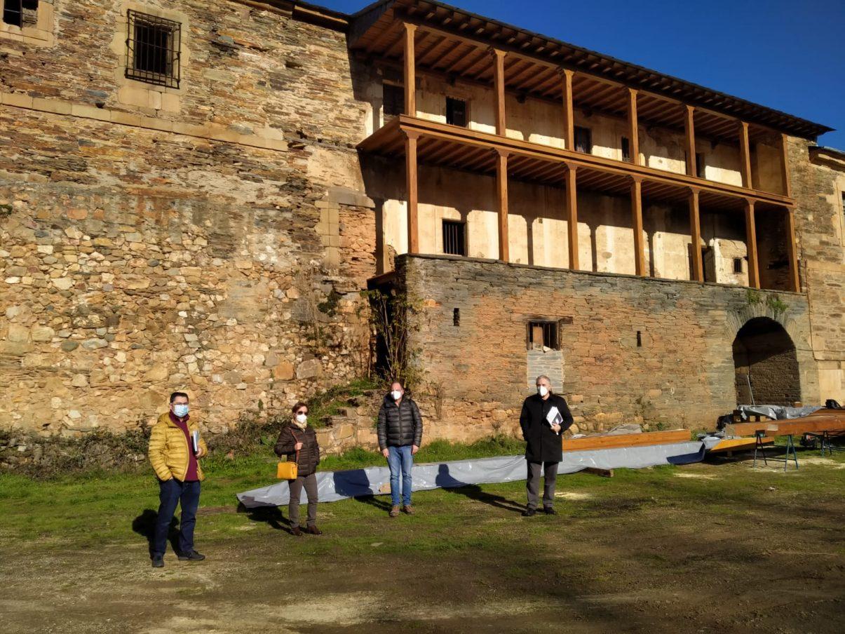 Comienzan las obras de restauración del Monasterio de San Andrés en Vega de Espinareda 1