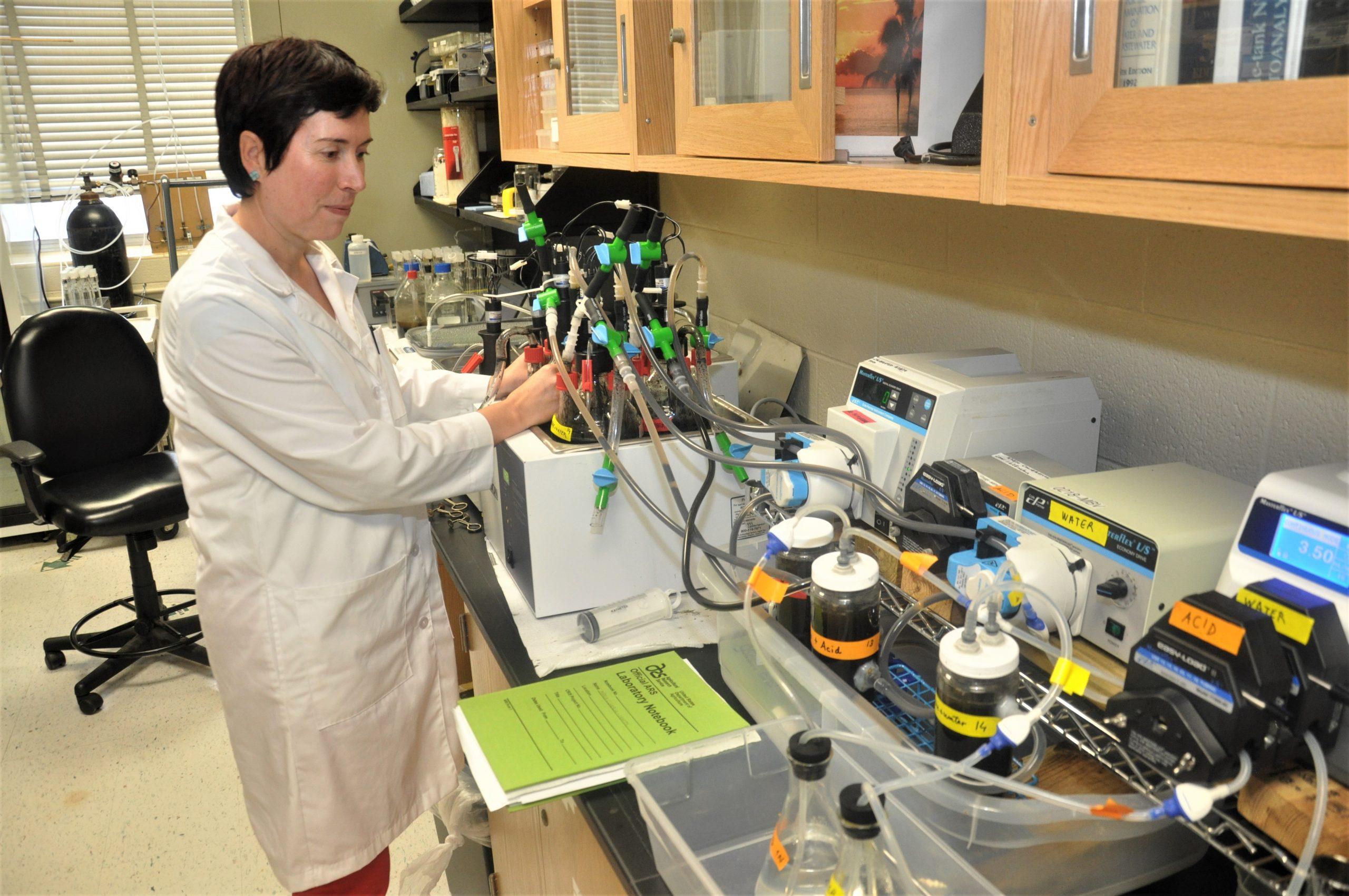 La berciana Mari Cruz García premiada en EEUU por su trabajo de recuperación de nitrógeno 1