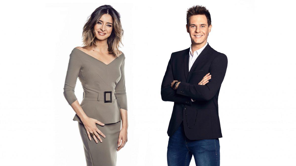 Sandra Barneda y Christian Gálvez conducirán desde Gran Canaria unas dobles Campanadas de Fin de Año 1