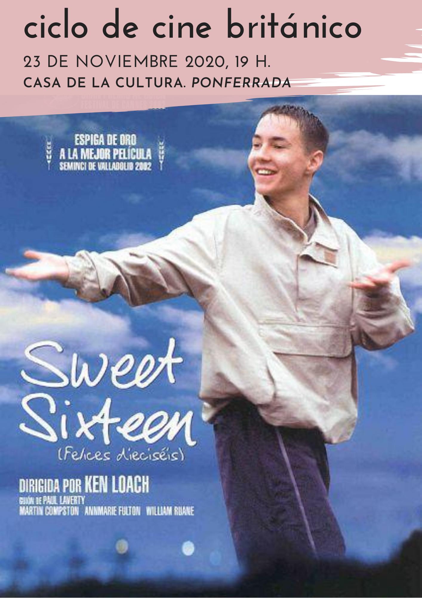 "Ciclo Tierra de Paso: Cine británico ""Sweet Sixteen"" (Felices dieciséis, 2002) 1"