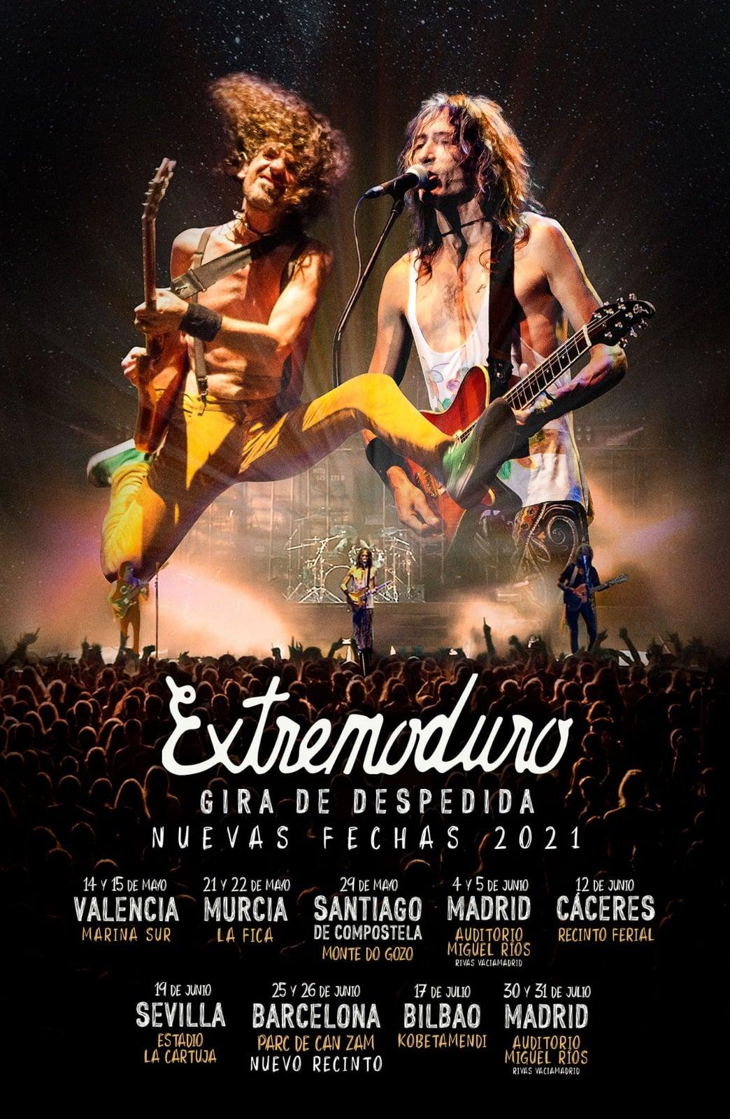 Extremoduro anuncia las fechas de su gira de despedida en 2021 2