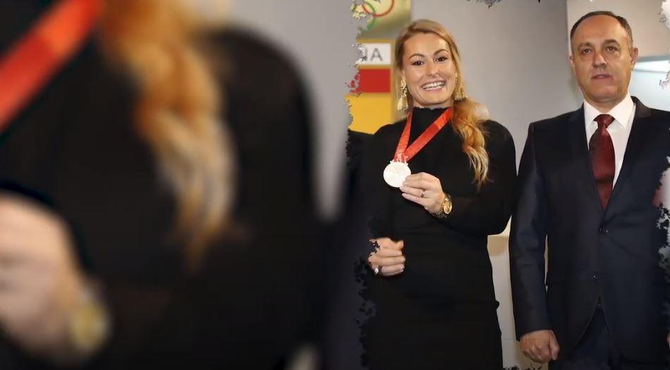 La haltera berciana Lydia Valentín se sincera en una entrevista con Alejandro Blanco, Presidente del Comité Olímpico Español 1