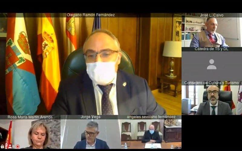 Junta, Ayuntamiento de Ponferrada y la Diócesis de Astorga ponen en marcha un proyecto piloto de investigación y conservación preventiva sobre la 'Tebaida Berciana' 1