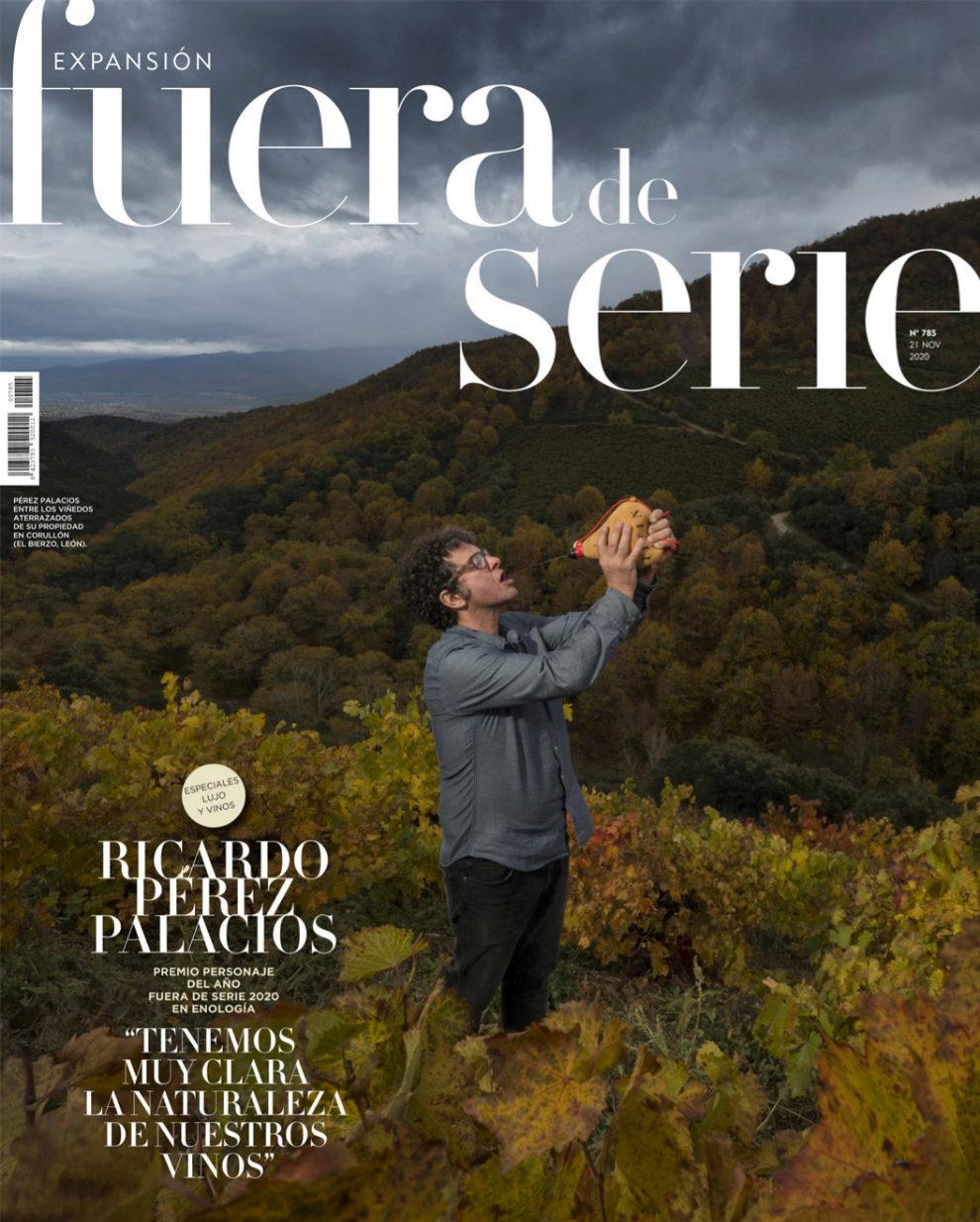 Ricardo Pérez Palacios 'Titín', premiado por la revista Fuera de Serie como