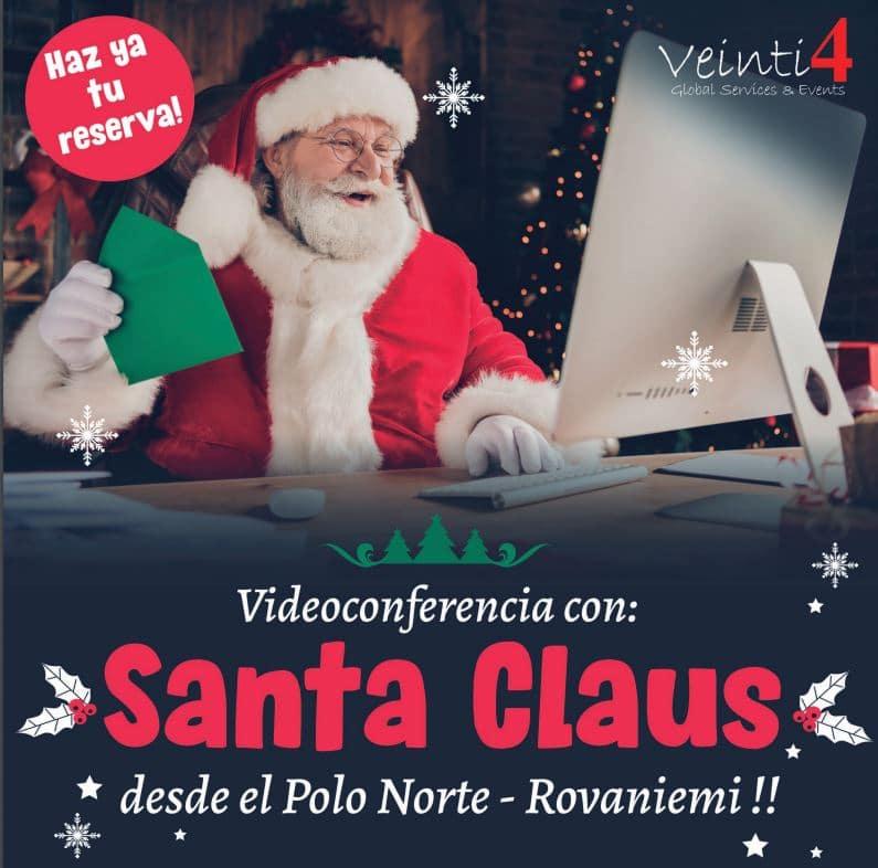 Esta navidad los niños de El Bierzo podrán hablar con Santa Claus por videoconferencia para hacerle sus peticiones 1
