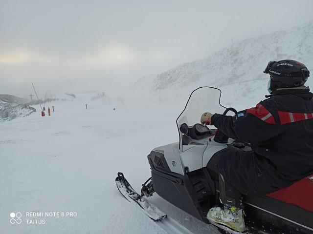 La Estación de esquí de Leitariegos preparada para abrir el miércoles 1
