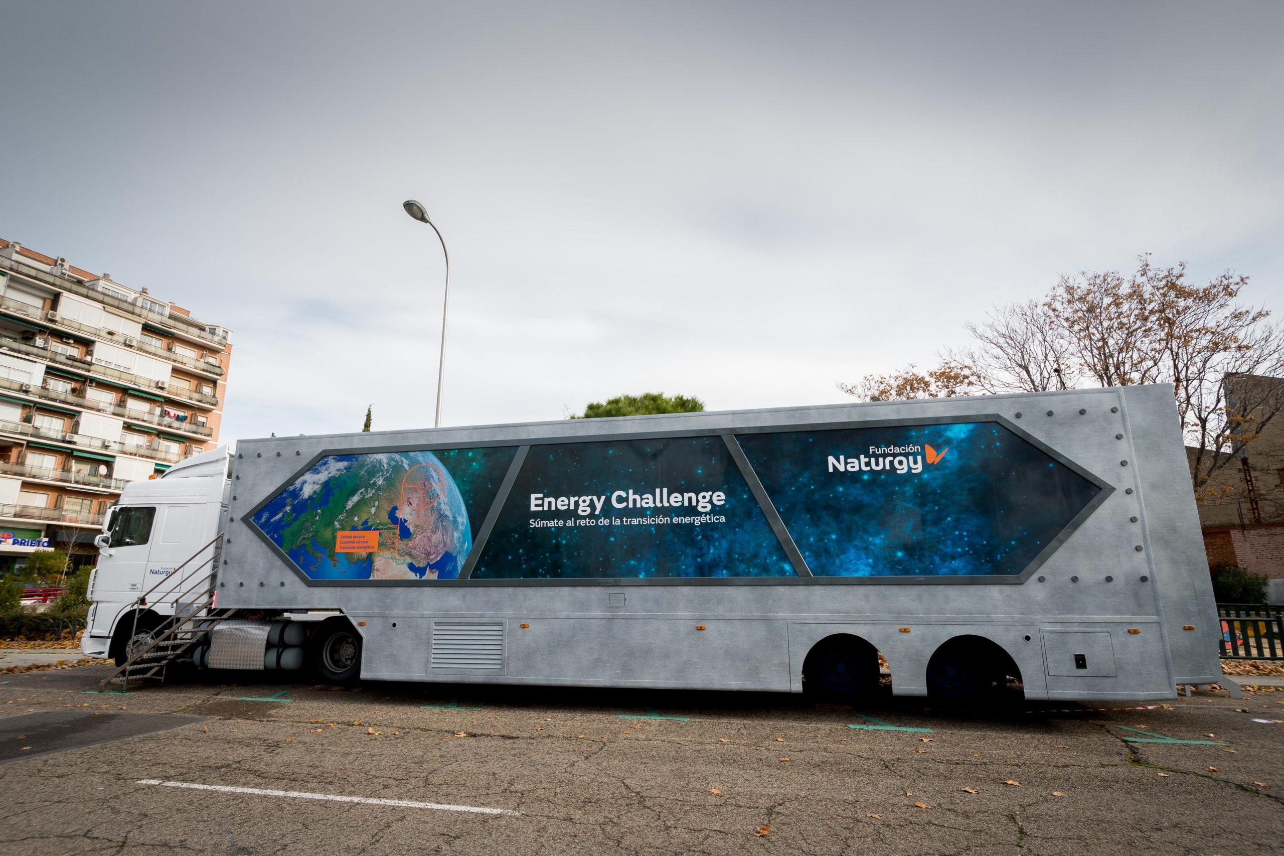 Naturgy 'aterrizará' durante las navidades en Ponferrada con una aeronave futurista llena de propuestas para resolver el desafío energético 4