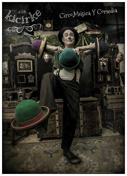 'El Comediante' Espectáculo familiar de circo y malabarismo en el Teatro de Cubillos del Sil 1