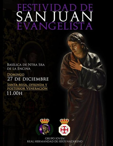 Celebración de la Festividad de San Juan Evangelista 1