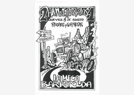 El ilustrador berciano Luis Silva presenta 'Carteles', una recopilación de trabajos en cartelería de conciertos, fiestas y más 3