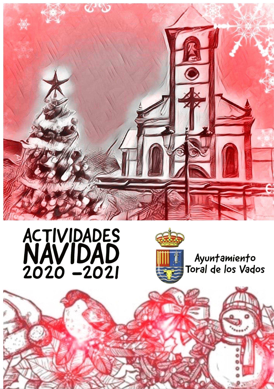 Así serán las navidades 2020 en Toral de los Vados. Programa completo 1