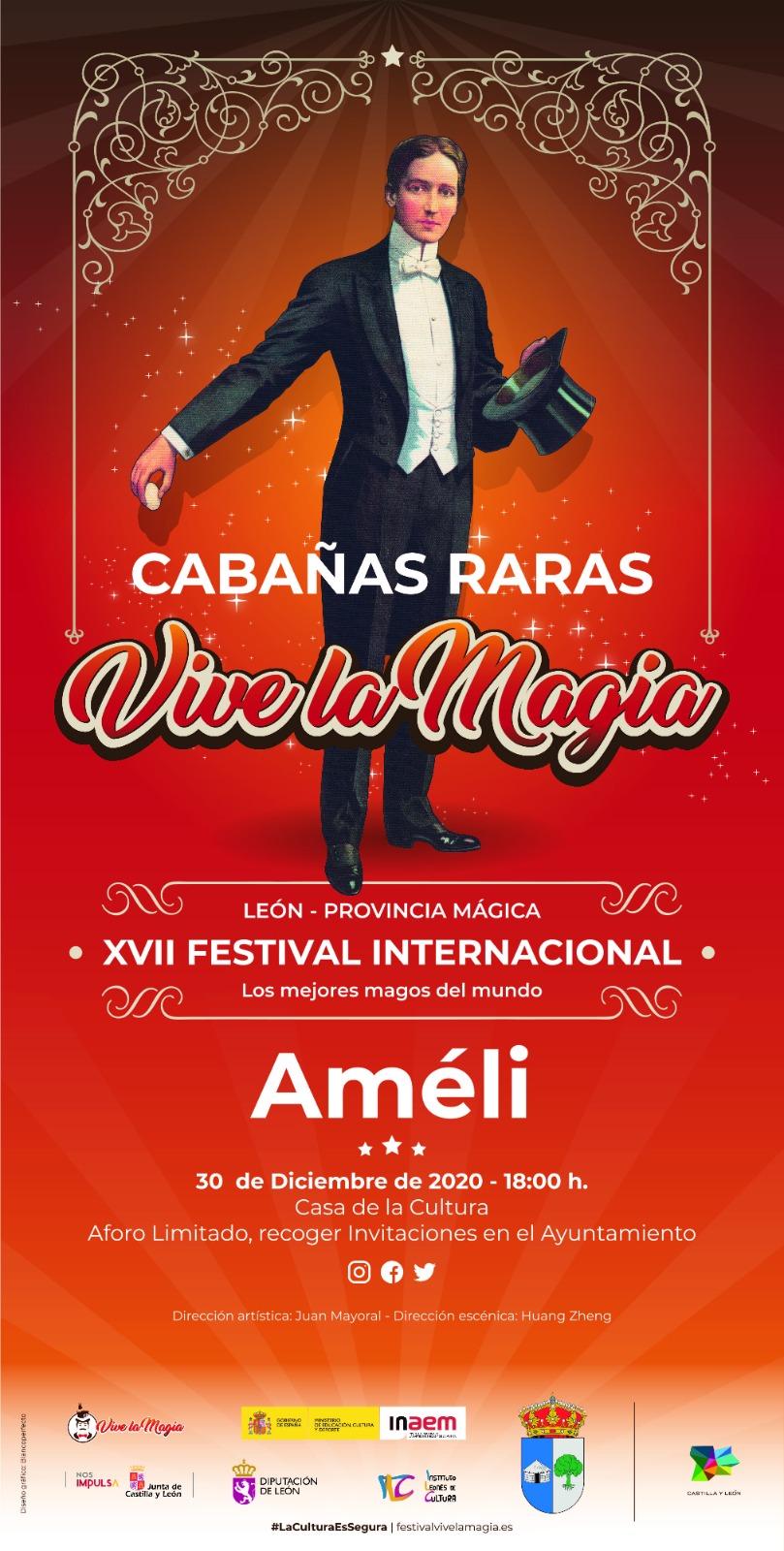 Cabañas Raras contará con la actuación de un mago dentro del Festival Vive La Magia 2