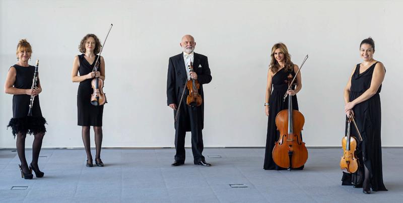 """Concierto del Cuarteto Arcosfere y la clarinetista Laura Tárrega dentro del programa """"La Sinfónica cerca de ti"""" 1"""