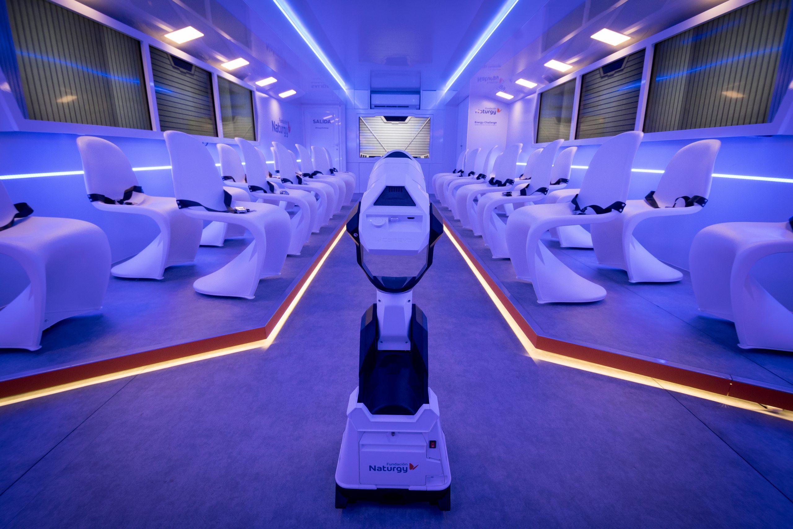 Naturgy 'aterrizará' durante las navidades en Ponferrada con una aeronave futurista llena de propuestas para resolver el desafío energético 3