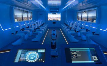 Naturgy 'aterrizará' durante las navidades en Ponferrada con una aeronave futurista llena de propuestas para resolver el desafío energético 8