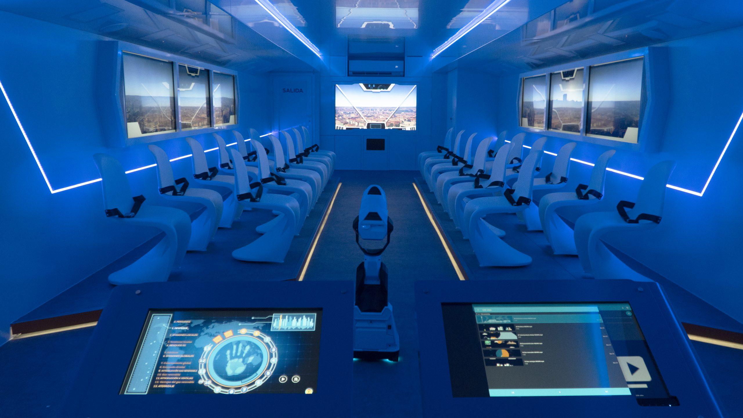 Naturgy 'aterrizará' durante las navidades en Ponferrada con una aeronave futurista llena de propuestas para resolver el desafío energético 1