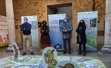 """La Asociación de Periodistas de León inaugura en el Museo del Bierzo la exposición """"El Conocimiento en el Camino"""" 10"""