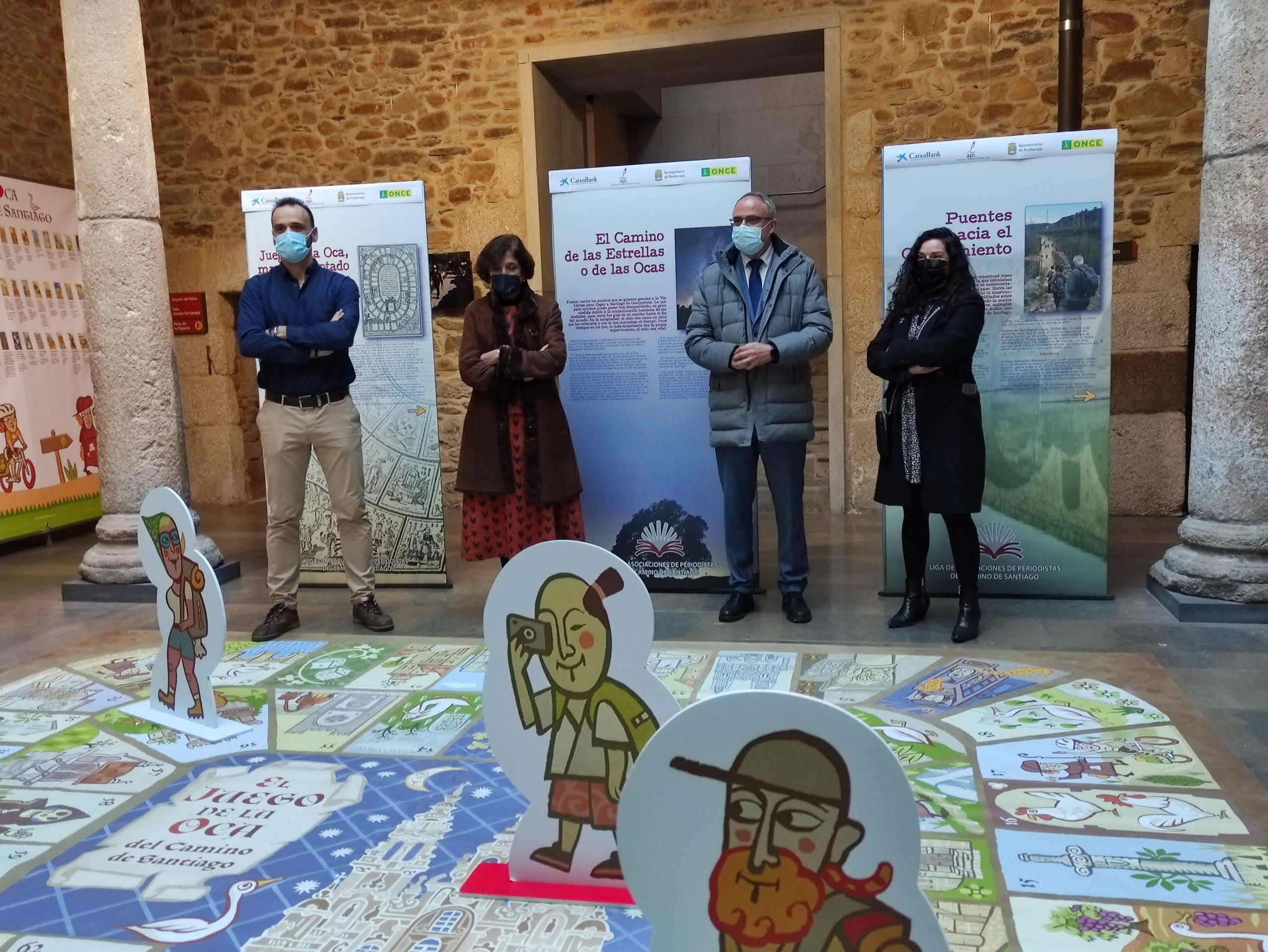 """La Asociación de Periodistas de León inaugura en el Museo del Bierzo la exposición """"El Conocimiento en el Camino"""" 1"""