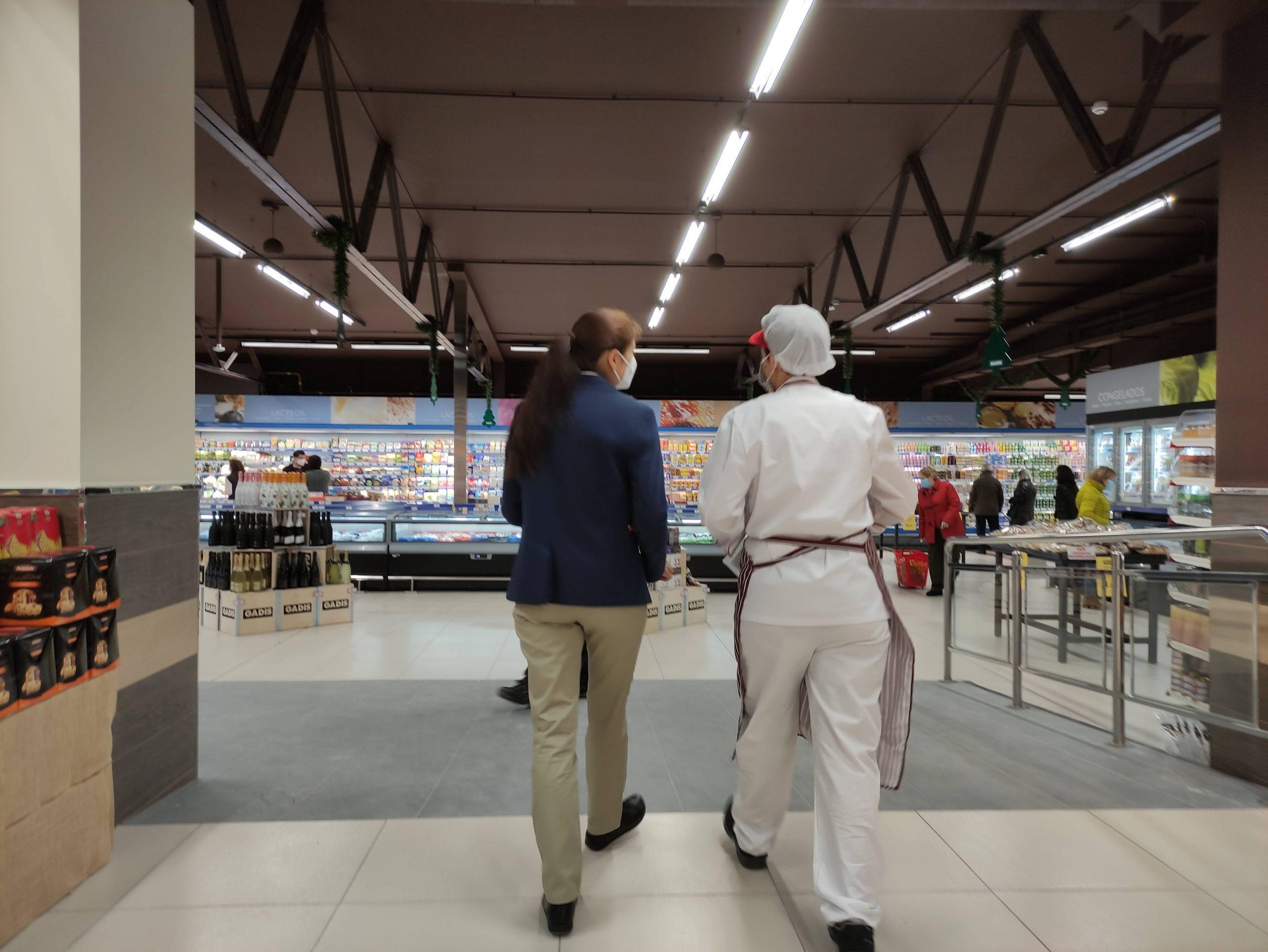 El Supermercado GADIS de la Calle Ancha reabre en Ponferrada, ampliando la superficie de venta 3