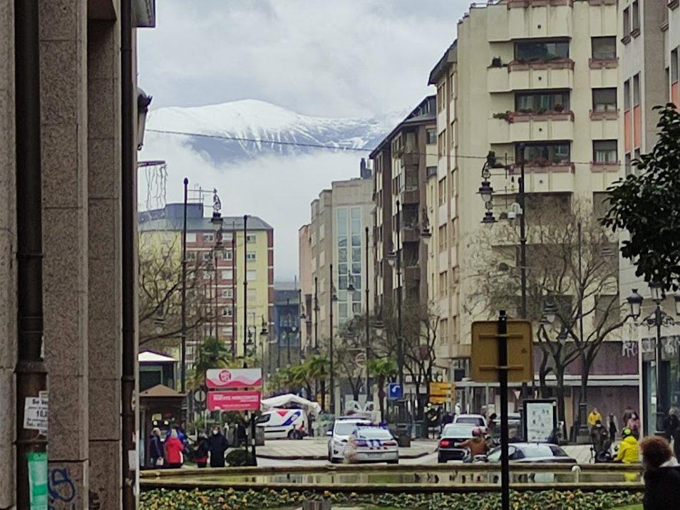 La Navidad llegará al Bierzo con nieve a partir de los 800 metros 1