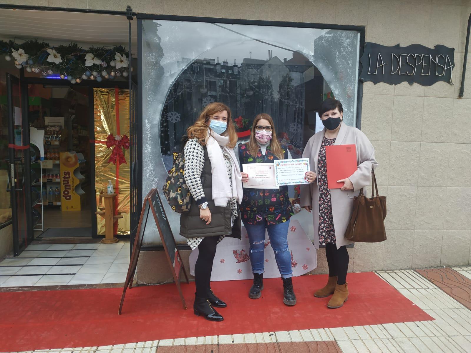 Estos son los ganadores del concurso de escaparates organizado por el Ayuntamiento de Bembibre 1