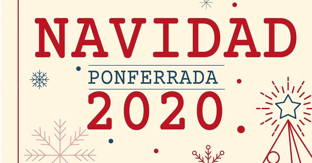 Programa de Navidad 2020 en Ponferrada 1