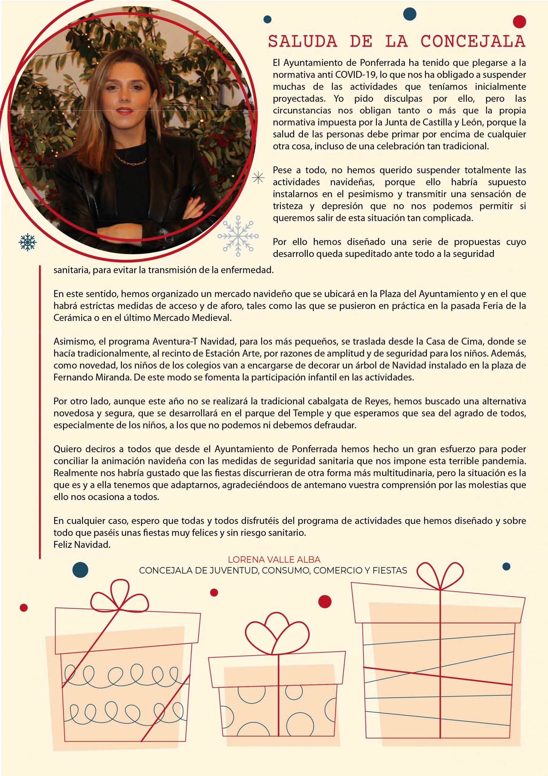 Programa de Navidad 2020 en Ponferrada 4