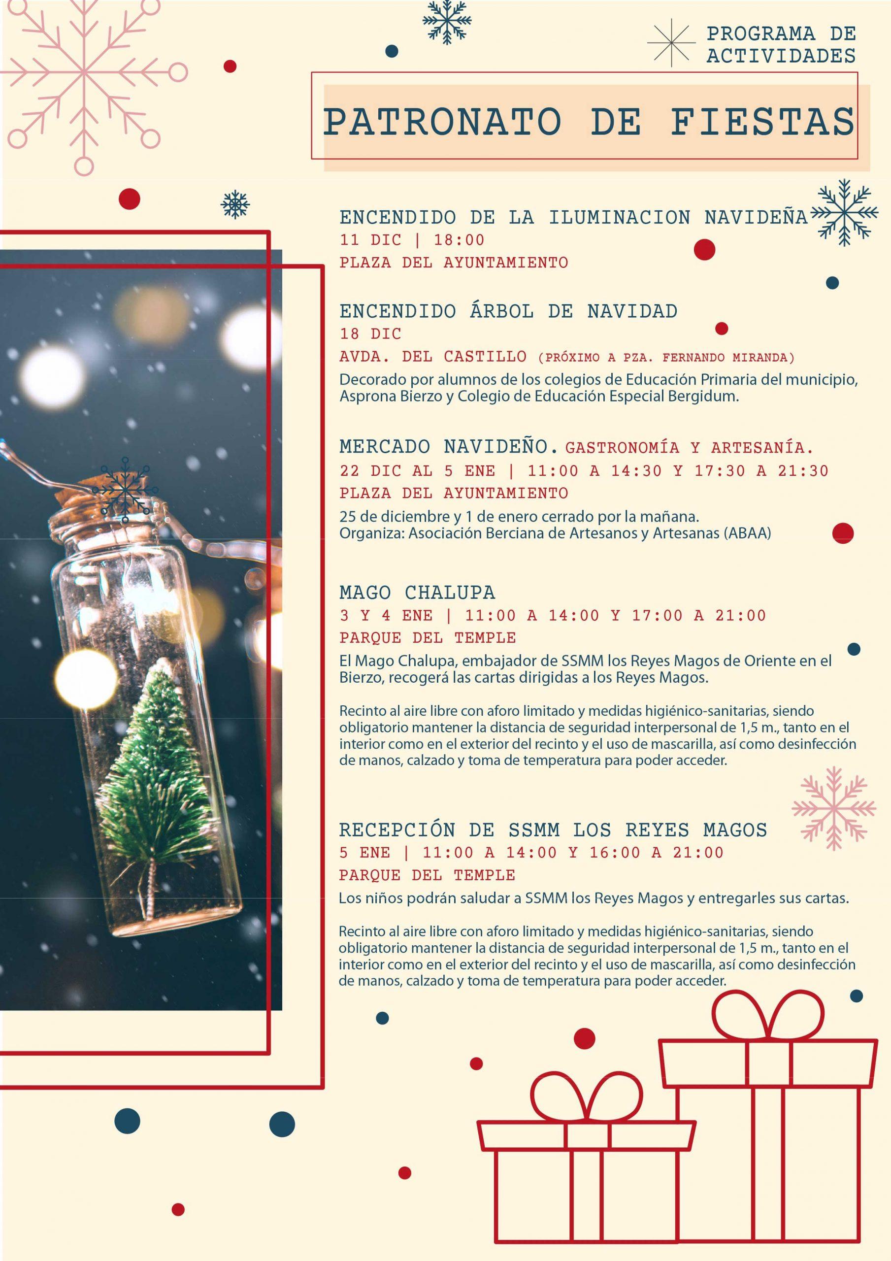 Programa de Navidad 2020 en Ponferrada 5