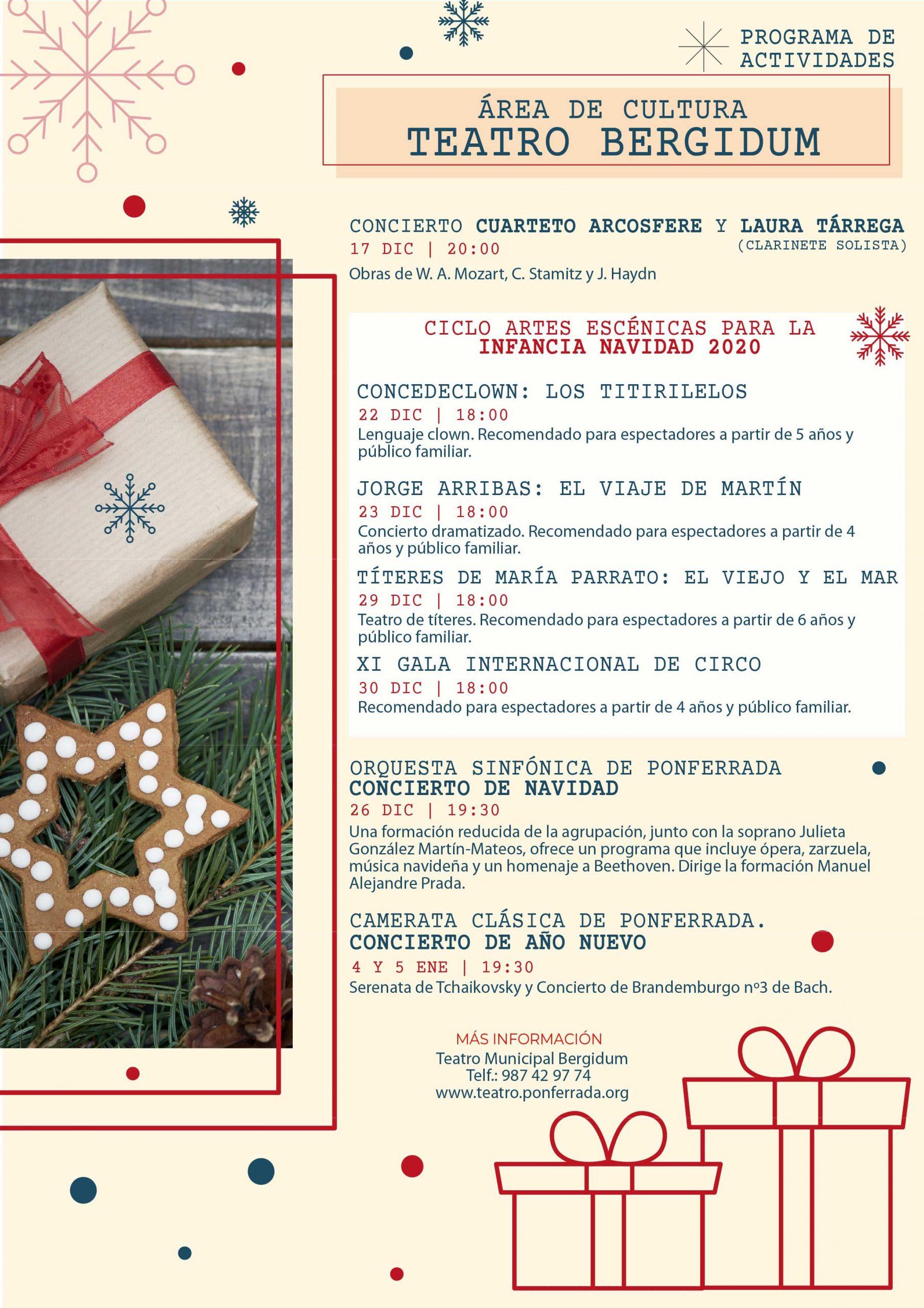 Programa de Navidad 2020 en Ponferrada 8