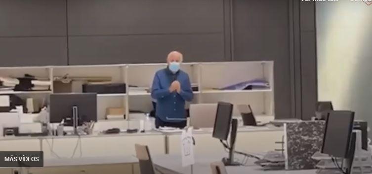 La sorpresa navideña de los trabajadores de Inditex, hace llorar a Amancio Ortega 1